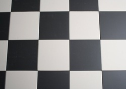 Tegeltrends: zwart en wit is weer