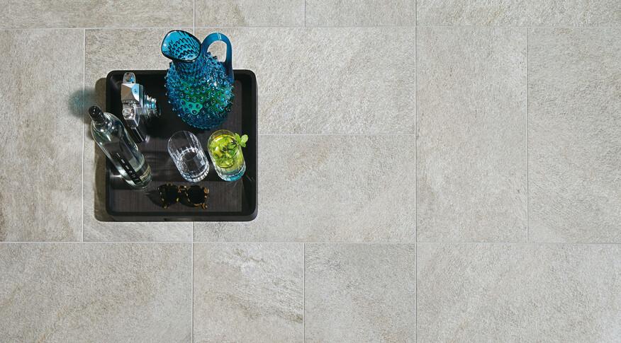 Agrob Buchtal Quarzit 25x50 Quarzgrau