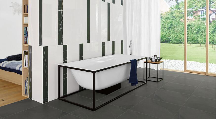 Agrob Buchtal Modern White 10x90, 30x90