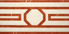 Villeroy & Boch New Tradition crema rosso 15x30cm 1772 ML36 0