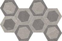 Emil Ceramica Milestone grey-dark grey 19.6x34.2cm R304Z8R